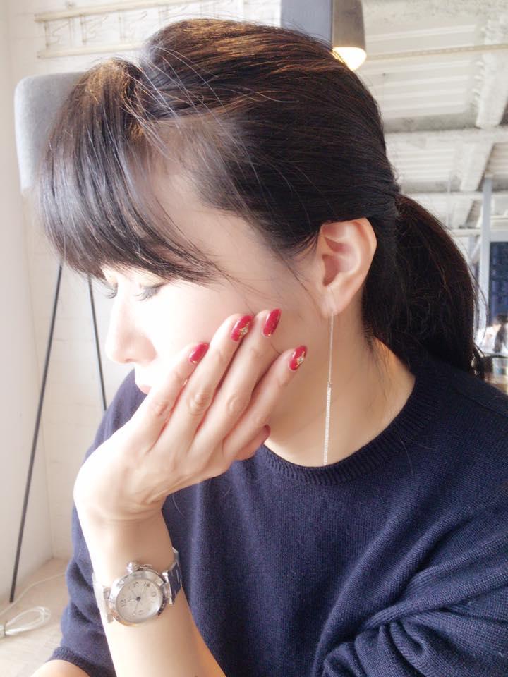 マリコちゃんのピアスが可愛いっ!!!