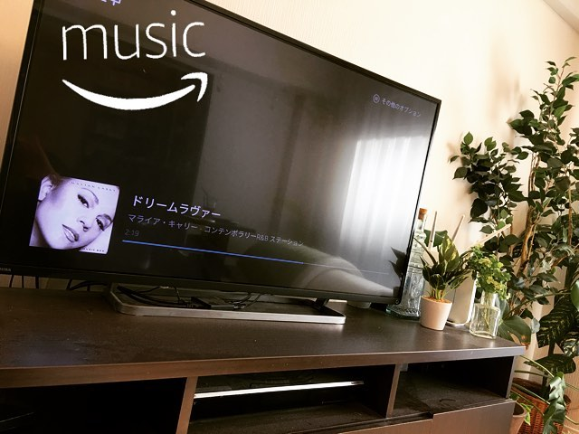 家にいる時にはAmazon MusicやYouTube、Hu…